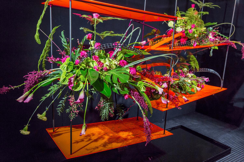 Baptcare Shop Window Floral Design Competition Melbourne