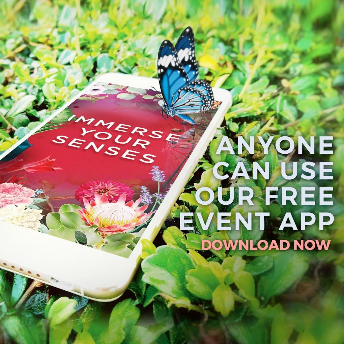 download the show app - melbourne international flower & garden show